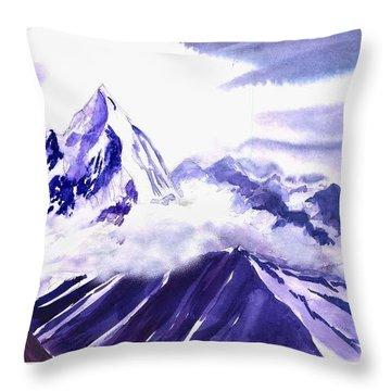 Himalaya Throw Pillow