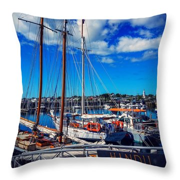 Throw Pillow featuring the photograph Hindu by Kendall McKernon
