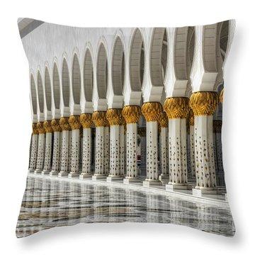 Hinduism Arch 1 Throw Pillow
