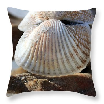 Hinged Together Throw Pillow