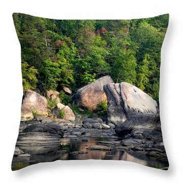 Throw Pillow featuring the photograph Hint Of Autumn by Beauty For God