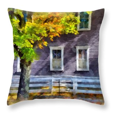 Hints Of Fall Throw Pillow