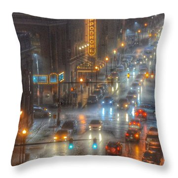 Hippodrome Theatre - Baltimore Throw Pillow