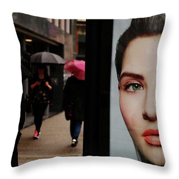 Hips And Lips  Throw Pillow