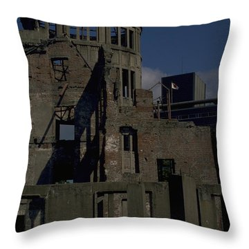 Hiroshima Peace Memorial Throw Pillow