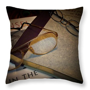 His And Hers - A Still Life Throw Pillow