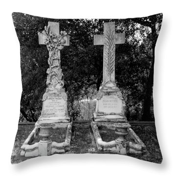 Throw Pillow featuring the photograph His And Hers by Michael Colgate