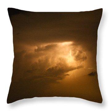 His Glory Throw Pillow