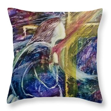 His Grace Is Over Me Throw Pillow