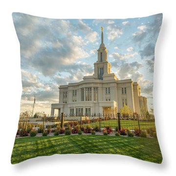 Throw Pillow featuring the photograph His Light by Dustin  LeFevre