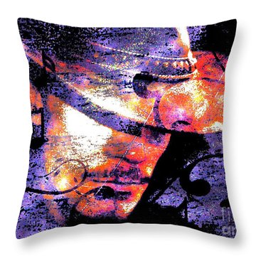 His Love Song  Throw Pillow