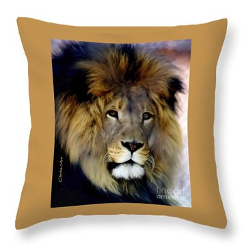 His Majesty The King Throw Pillow