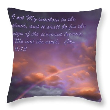 His Promise Throw Pillow