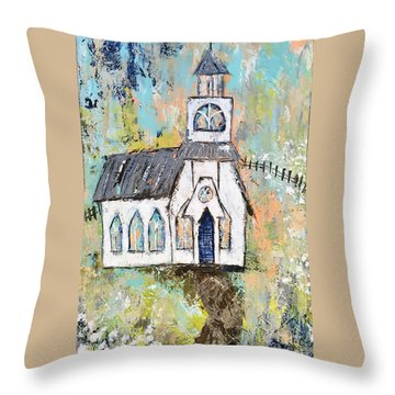 His Purpose Will Prevail Throw Pillow by Kirsten Reed