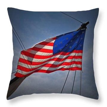 Historic American Throw Pillow
