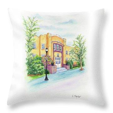 Historic Armory Throw Pillow