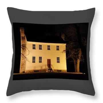 Historic Carter Mansion  Throw Pillow