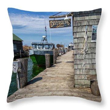 Historic Fishtown 12 Throw Pillow
