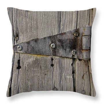 Throw Pillow featuring the photograph Historic Fishtown 8 by Heather Kenward