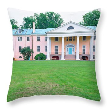 Historic Home Of James Madison Throw Pillow