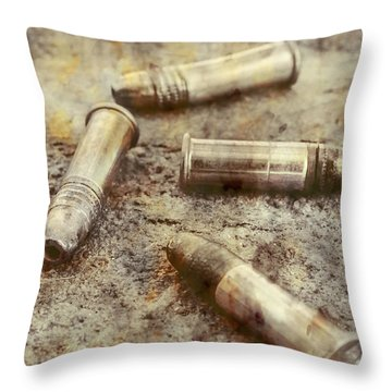 Throw Pillow featuring the photograph Historic Military Still by Jorgo Photography - Wall Art Gallery