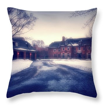 Throw Pillow featuring the photograph Historic Neenah Home by Joel Witmeyer