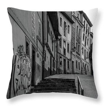 Historic Oviedo Throw Pillow