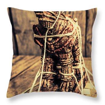 Historic Reconstruction Throw Pillow