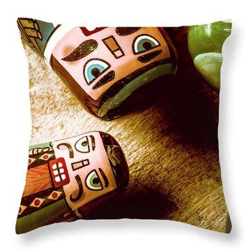 Historic Toys Throw Pillow