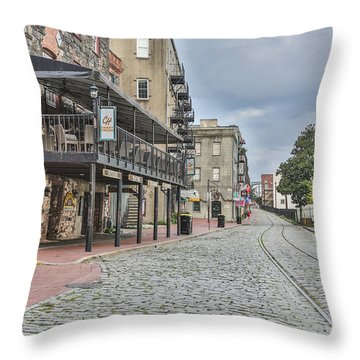 Historic Walk Throw Pillow