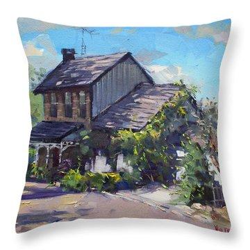 Historical House Ontario Throw Pillow