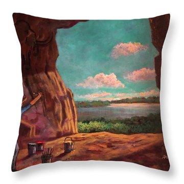 History Of Art Throw Pillow