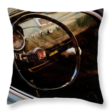 History Of Italy Throw Pillow by Cesare Bargiggia
