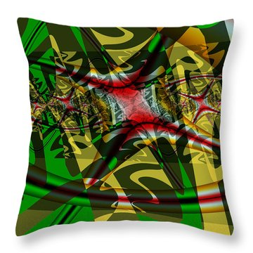 History Repeats Throw Pillow