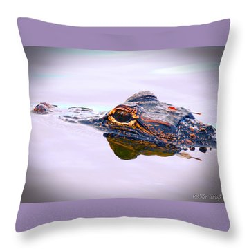 Hitchin A Ride Throw Pillow