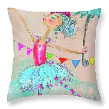 Hiwired Throw Pillow