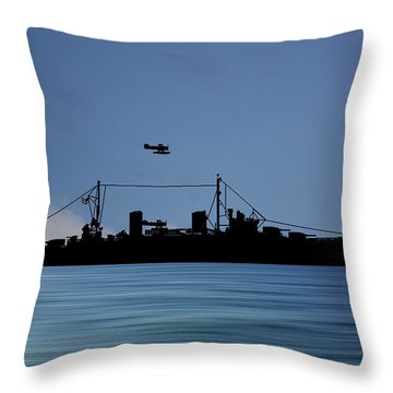 Royal Navy Throw Pillows