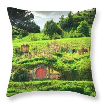 Hobbit Lane Throw Pillow