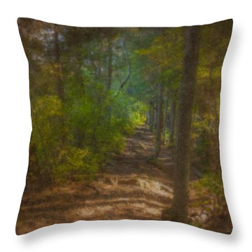 Hobbit Path Throw Pillow