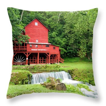 Hodgson Water Mill Throw Pillow