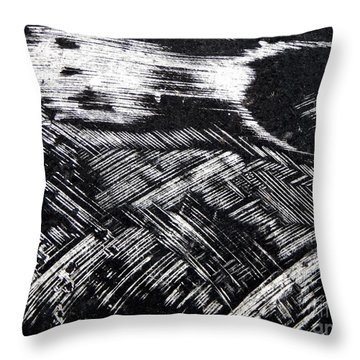 Hog Fish Float One Throw Pillow by Expressionistart studio Priscilla Batzell