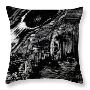 Hog Fish Two Throw Pillow by Expressionistart studio Priscilla Batzell