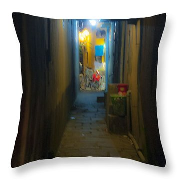 Hoi An Alleyway Throw Pillow