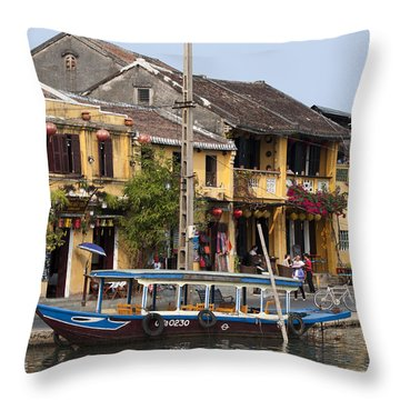 Hoi An Ancient Town Throw Pillow