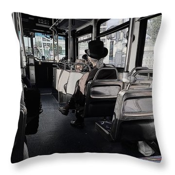 Hoity Toity With The Hoi Polloi Throw Pillow