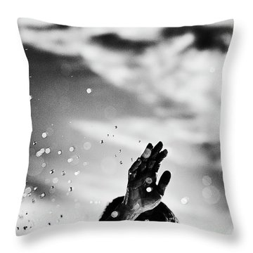Throw Pillow featuring the photograph Hola by Nik West