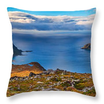 Holandsmelen Panorama Throw Pillow