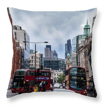 Holborn - London Throw Pillow