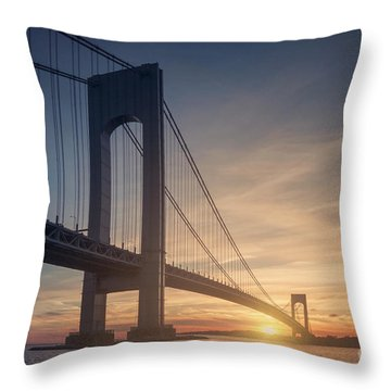 Hold Back The Night Throw Pillow