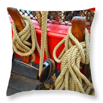 Hold It Down Throw Pillow